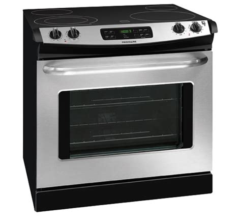 drop in stove frigidaire 30 drop in electric range stainless steel