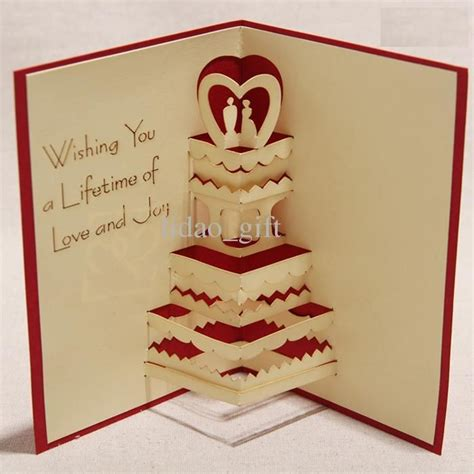How To Make Handmade Wedding Cards - gallery for gt how to make handmade 3d greeting card