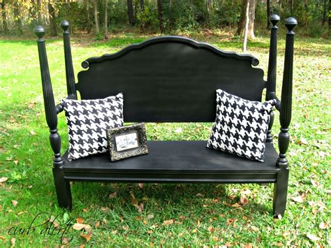 headboard bench curb alert headboard bench repainted