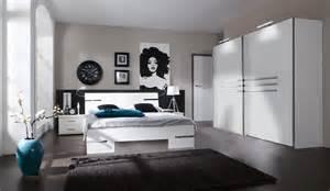 chambre compl 232 te design blanc alpin chrome brillant