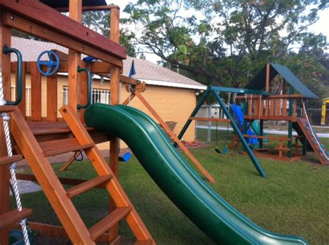 orlando swing a guide to buying a new swing set in orlando featuring