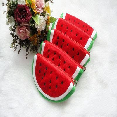 Ransel Selempang 2 In 1 Coin Kait Harga Murah 1pc creative fruit lovely watermelon coin bag
