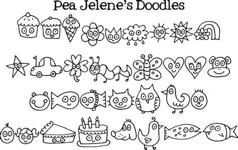 doodle name kevin pea jelene s doodles
