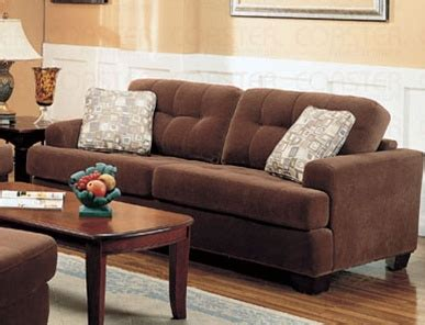 stanley sofa pictures stanley sofa in terry cloth brown fabric cover by coaster