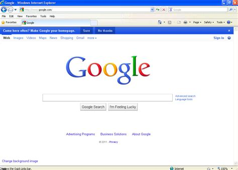 new design google homepage google s new homepage design made me think and it tires me