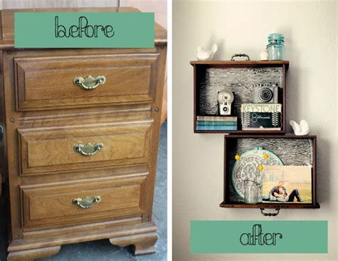 Turn Drawers Into Shelves by 20 Creative Ideas And Diy Projects To Repurpose