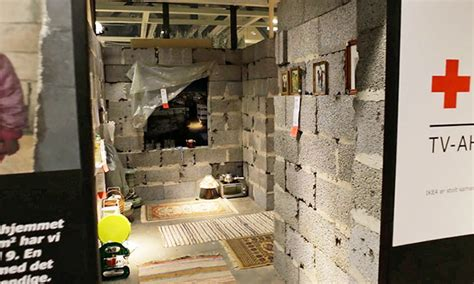 ikea syrian refugees ikea recreates syrian home inside their store in efforts