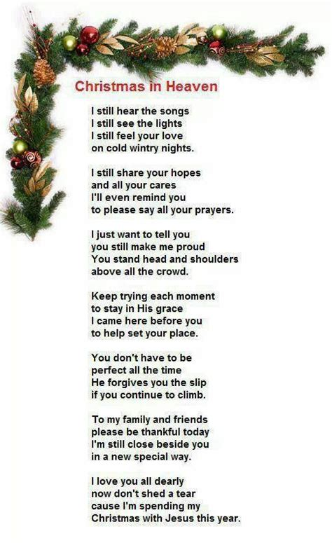 christmas prayer  heaven christmas  heaven christmas poems heaven poems