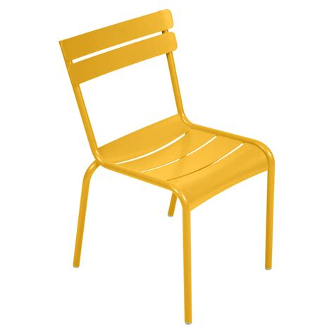 chaises fermob chaise luxembourg de fermob miel