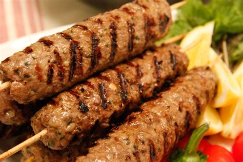 lamb kebabs spicy ground lamb kebabs fangalicious