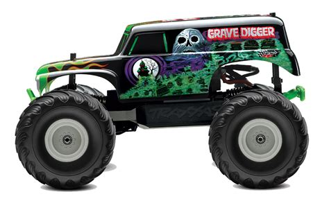 gravedigger monster truck videos traxxas 7202a