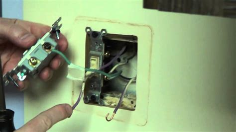 double switch 3 way switch and single pole conduit youtube