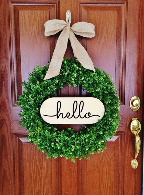 Welcome Wreaths Front Door 25 Best Ideas About Summer Wreath On Door Wreaths Wreaths And Wreaths For