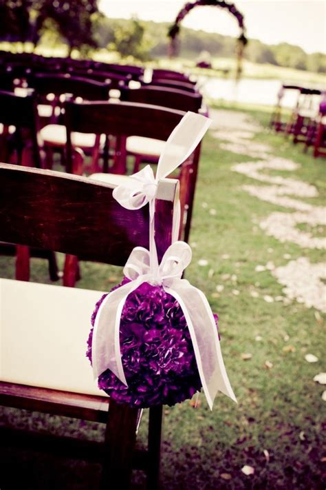 Wedding Aisle Flower Balls by Stunning Wedding Aisle And Inspiration Sharp N Chic Weddings