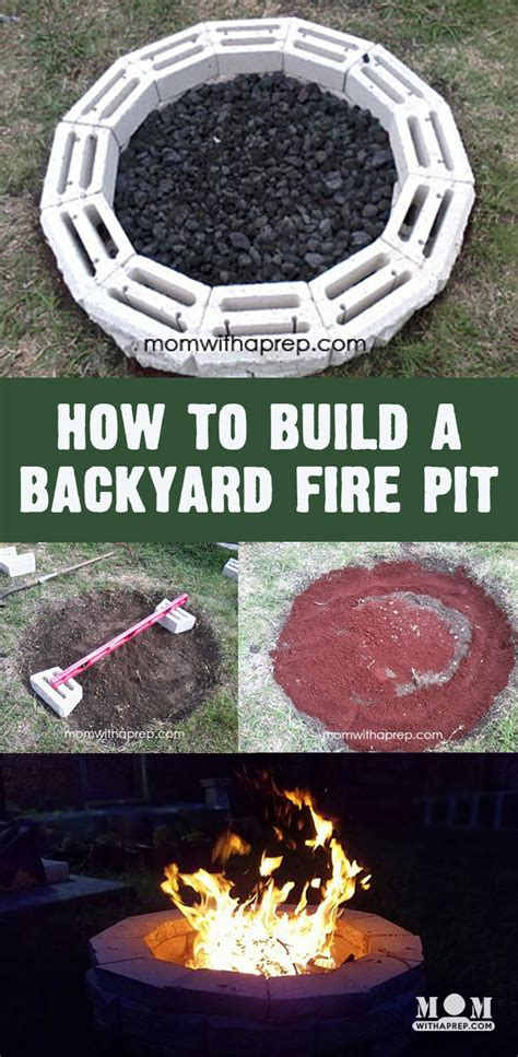 how much to build a pit diy backyard pit