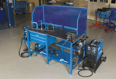 miller welding bench miller introduces arcstation the first ever all in one