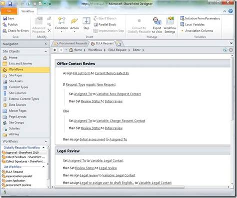 types of workflows in sharepoint 2010 sharepoint designer setting workflow status create
