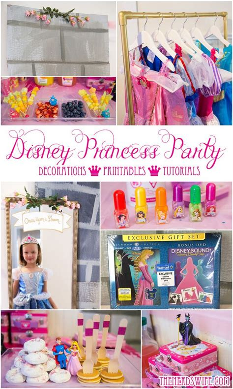 printable disney princess party decorations disney princess spa party ideas disney princess party