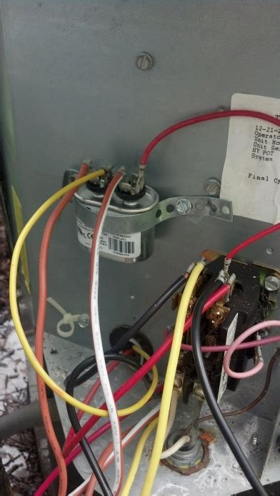 york ac condenser fan motor replacement how to replace condensor fan motor hvac diy chatroom