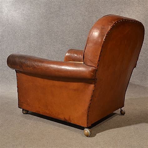 Vintage Leather Armchair Uk by Antique Leather Armchair Vintage Club Easy Chair C1900 282895