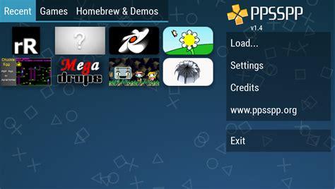 ppsspp emulator apk ppsspp gold psp emulator 1 4 2 apk android