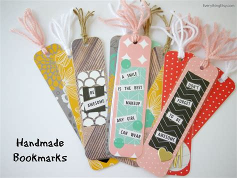 Diy Handmade - diy bookmarks for your bookworms