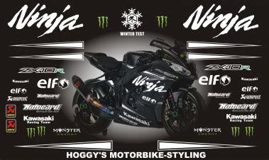 Kawasaki Wsbk Sticker Kit by Webshop Overzicht Stickersets Motoren Mini Midibike