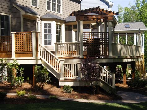 multi level homes inspiring multi level deck ideas photo house plans 74296