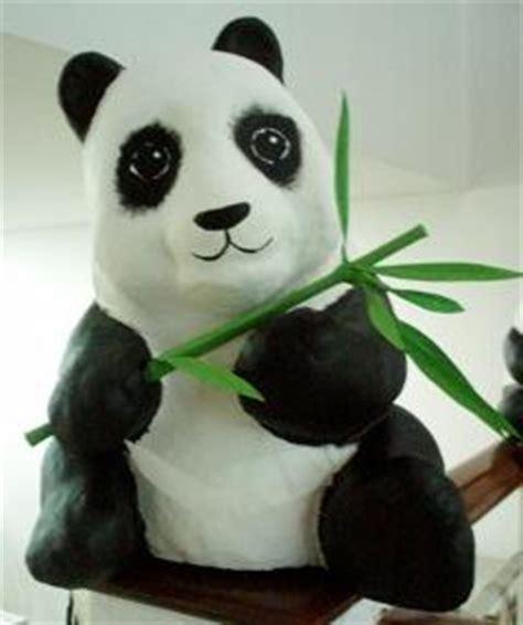 How To Make A Paper Mache Panda - papier mache galleries paulo grangeon