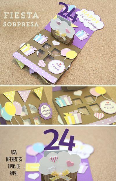 tutorial tarjeta pop up scrapbook la tarjeta perfecta de cumplea 241 os con tem 225 tica de fiesta