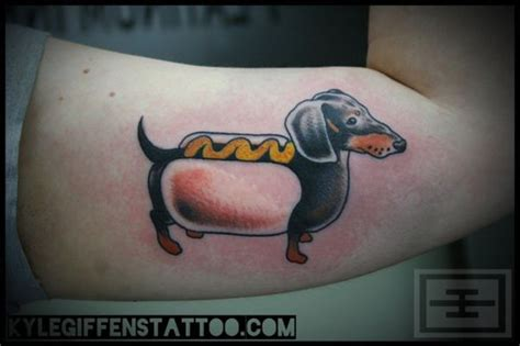 dachshund tattoos 17 best images about tattoos on dachshund