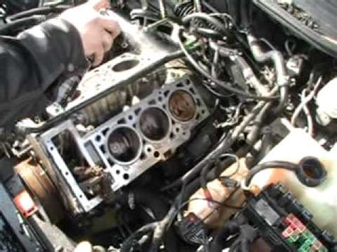 how cars engines work 2003 dodge ram head up display head gaskets on a 2 7 dodge intrepid engine 016 mod youtube