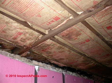 basement ceiling insulation installation basement gallery
