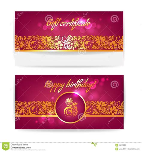happy birthday banner card template winter sale design vector print template stock