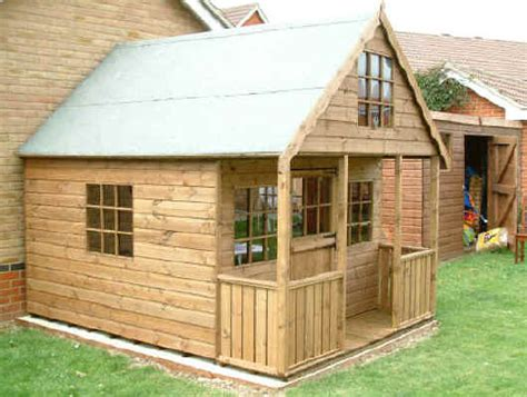 Design Your Own 2 Story Home 10 x 8 playhouse 2 storey by sheds unlimited