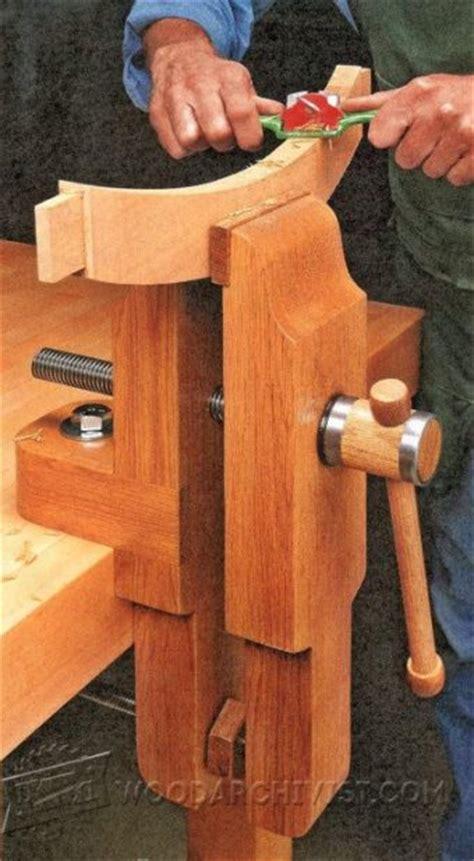 bench vise plans diy pipe cl vise woodarchivist