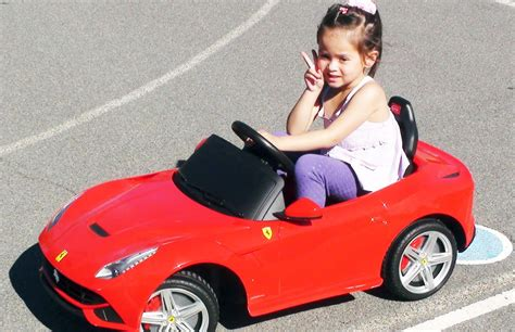 kid car kid driving f12 berlinetta ride on car