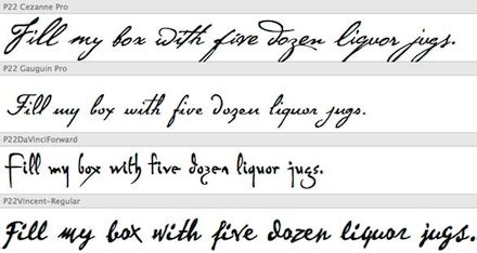 13 good handwriting fonts images font that looks like