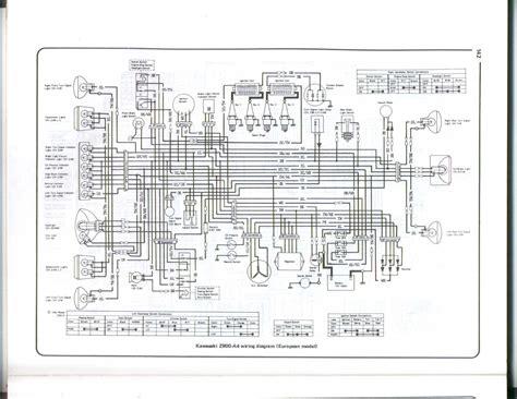 kawasaki kz1000 ltd wiring diagram get free image about