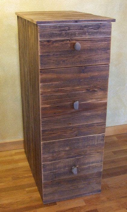 reclaimed wood file cabinet cabinet furniture