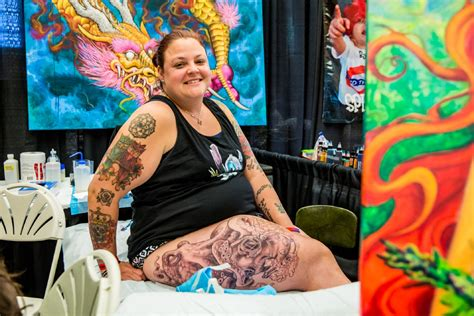 seattle tattoo expo photos getting inked at the 2016 seattle expo
