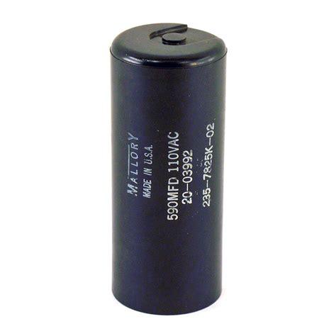 capacitor mallory mallory capacitor 590 mfd 110 vac 235 7825k 02 ebay
