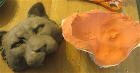 How To Make A Paper Mache Mold Of Your - silicone molds for paper mache experiment