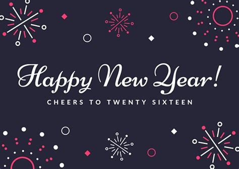 new year template card customize 206 new year card templates canva