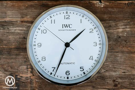 wall watch give away iwc wall clock monochrome watches