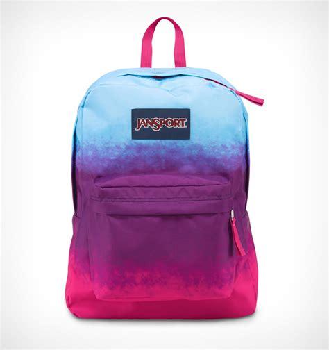 Jans Sport jansport superbreak backpack purple ombre