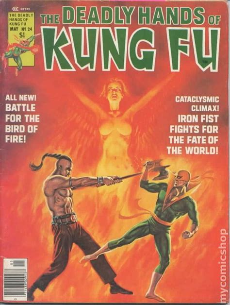 deadly hands of kung 1302901338 deadly hands of kung fu 1974 magazine comic books