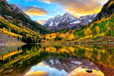 maroon august sunset on maroon bells photograph by rick wicker