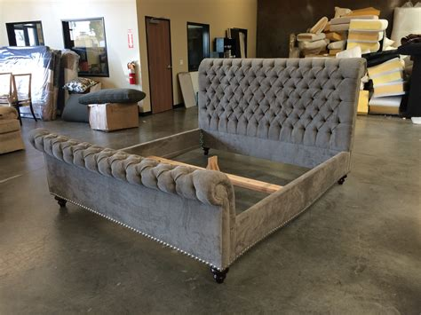 grey sleigh bed upholstered sleigh platform bedroom furniture set 60 bathroom grey tufted upholstered