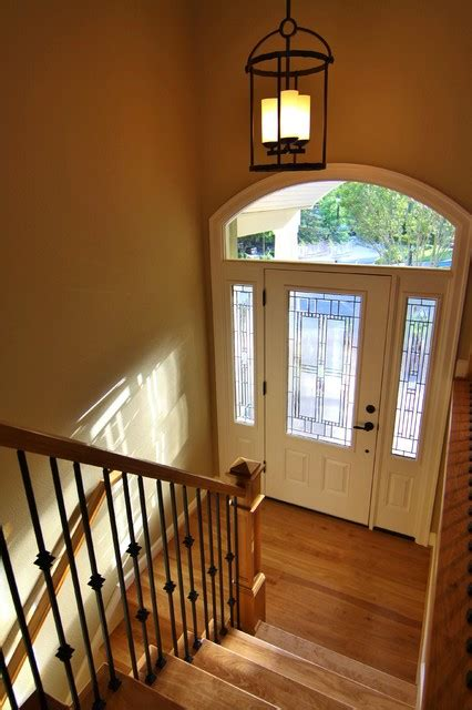 split level entry beautiful new stairway and entry traditional entry